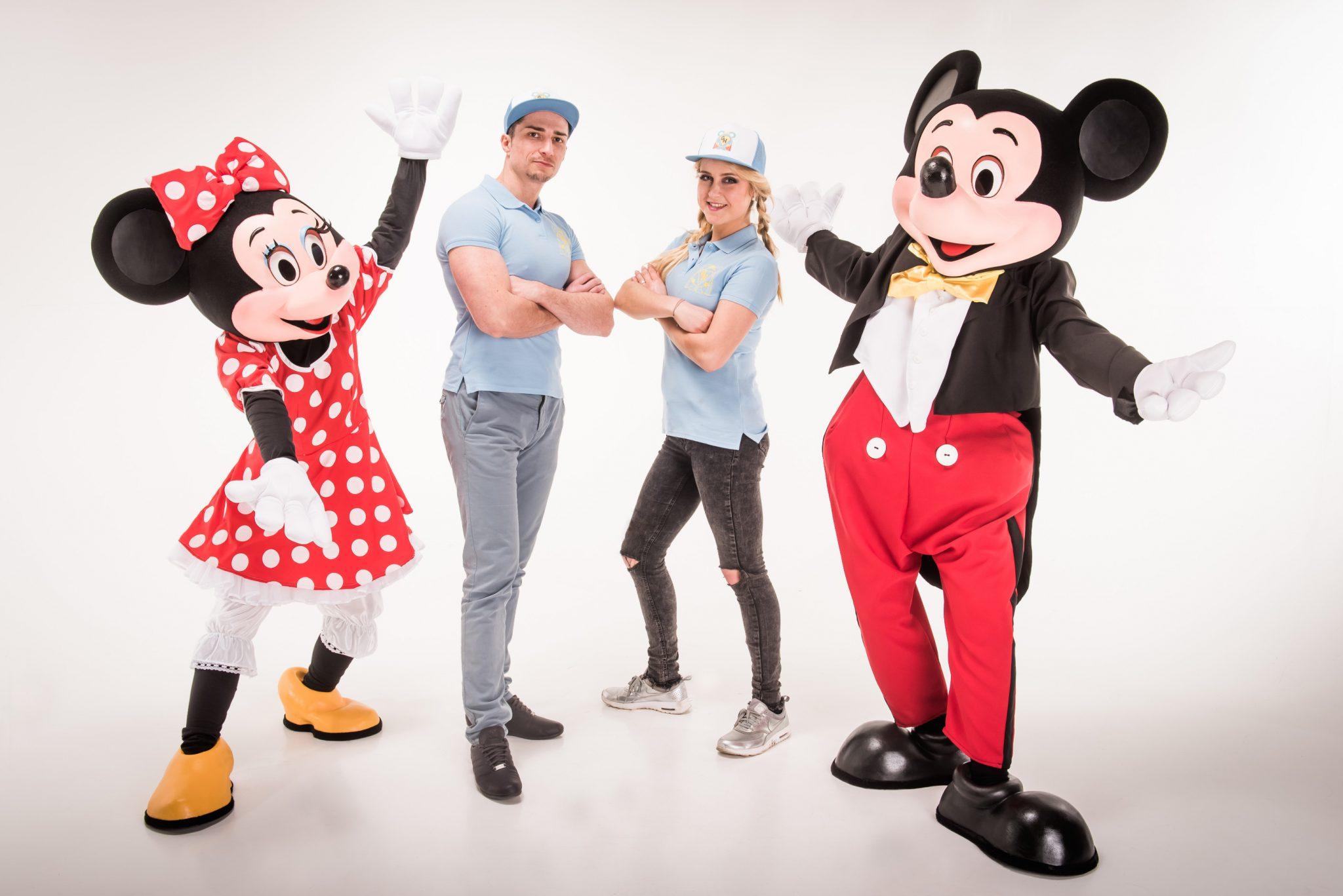 Mickey Mouse Minnie Mouse Geburtstagsheldenhelfer