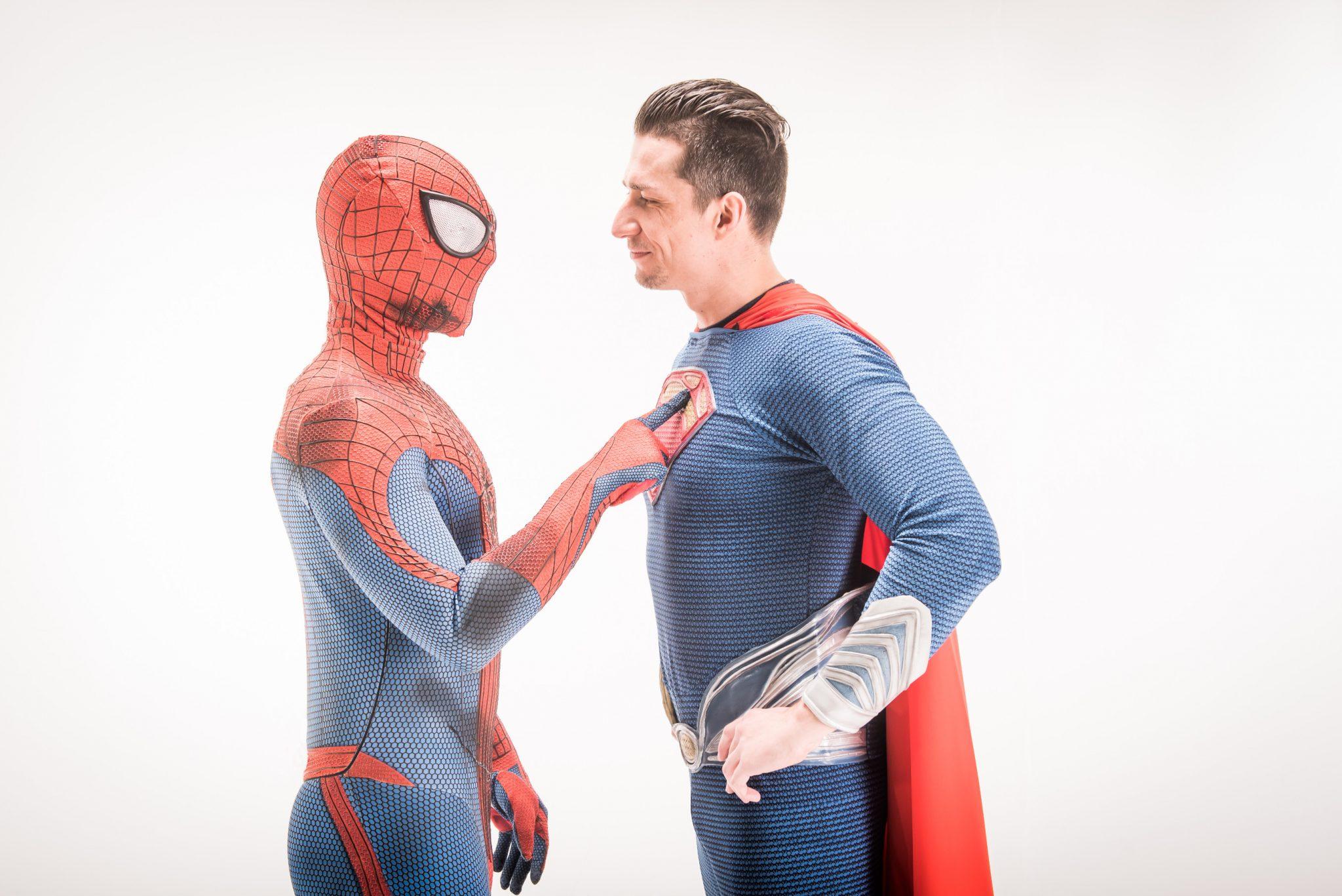 Unsere Superhelden wollen beide zum Geburtstag